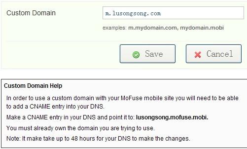 T为网站免费创建功能强大的手机版—MoFuse-卢松松博客