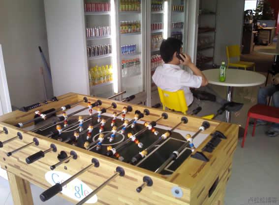 Google每层楼都有员工休息区-Google北京公司半日游