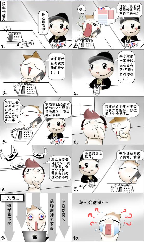 SEO漫画